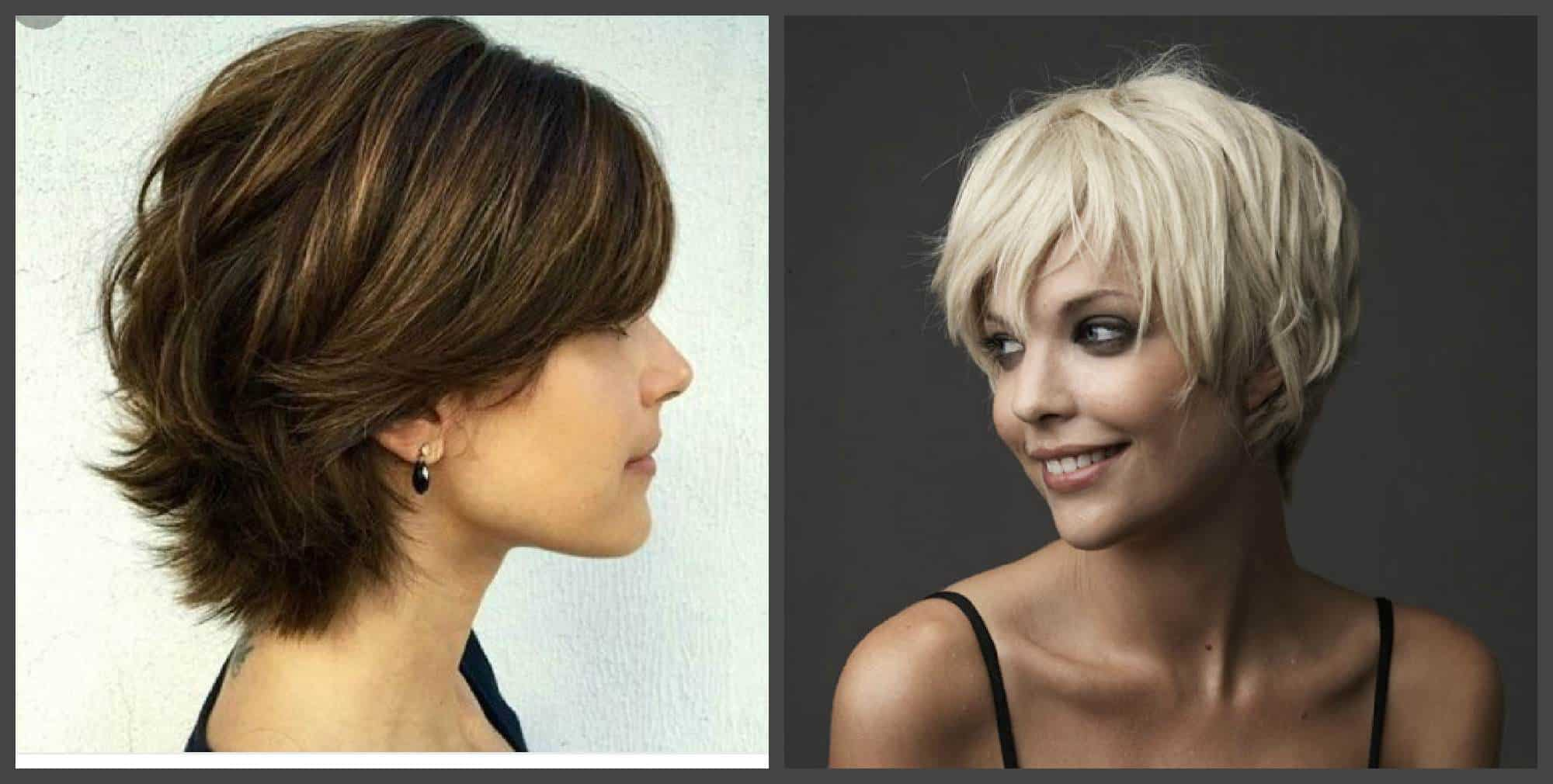 Cortes de pelo mujer 2018-cabello corto tonos diferentes