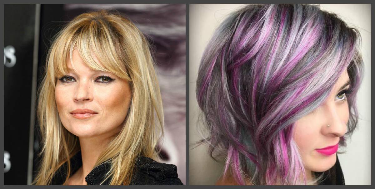 Peinados 2018- cores diferentes