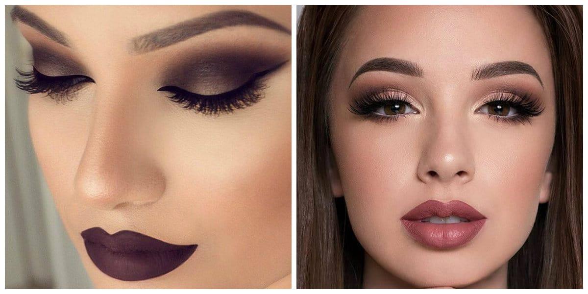 Tendencias de maquillaje 2020-tonos oscuros y viceversa