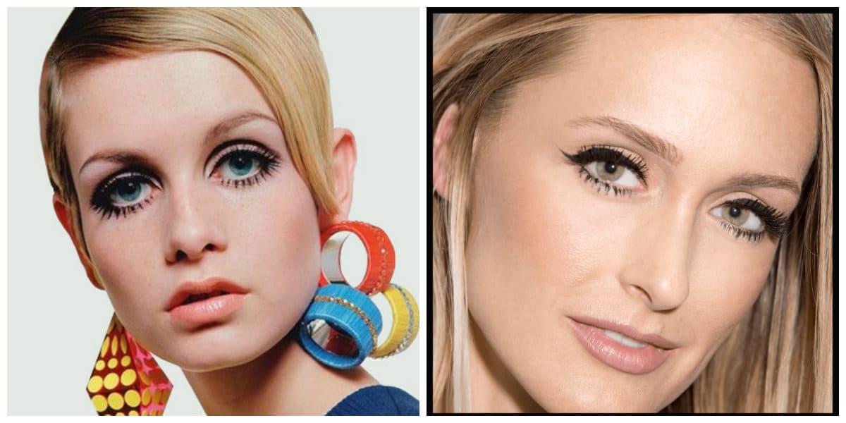 Tendencias de maquillaje 2020- estilo Twiggy