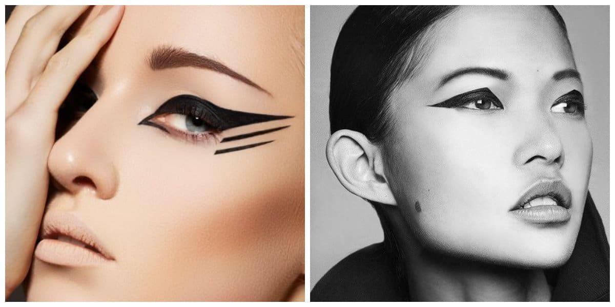 Tendencias de maquillaje 2020-monocromático