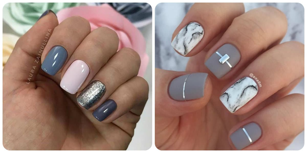 Uñas cortas 2018; tendencias e ideas del arte de uñas cortas