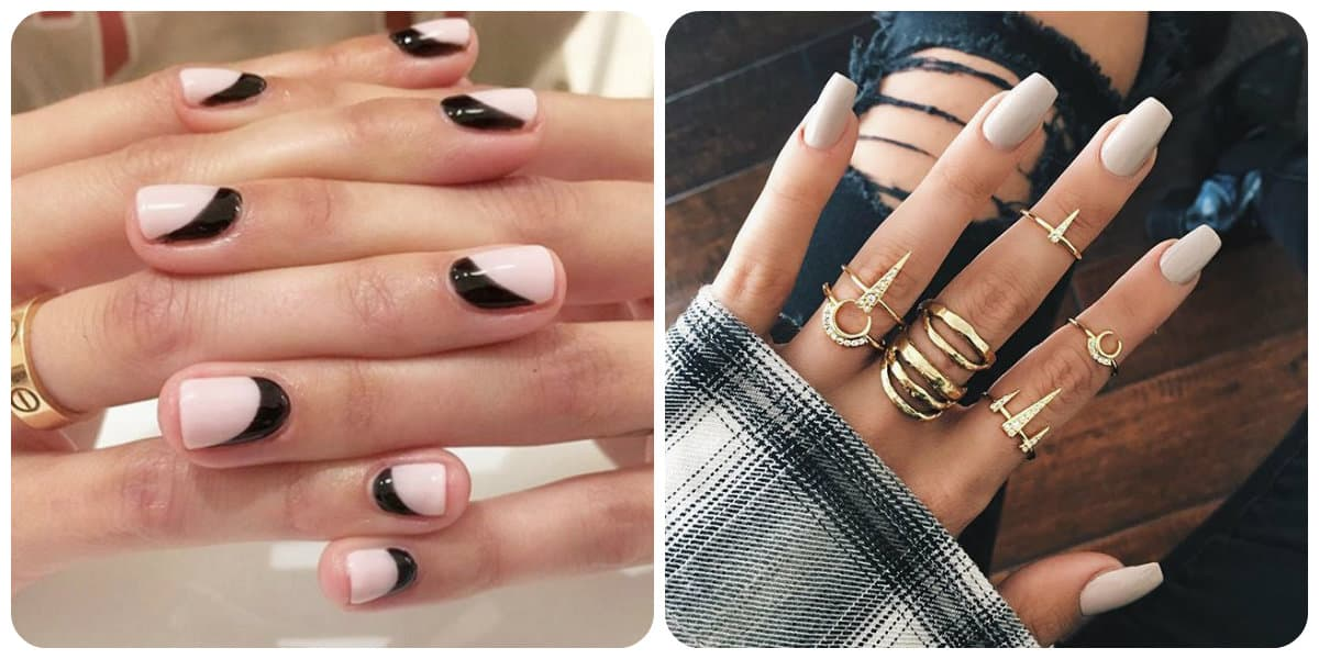 U as de moda 2018 tendencias de manicura de moda y hermosa for Decoracion de unas espejo 2017
