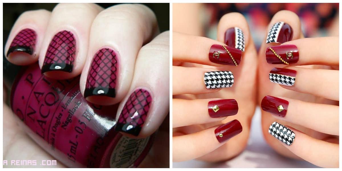 Tendencias de colores de uñas 2018 tonos de rojo de moda
