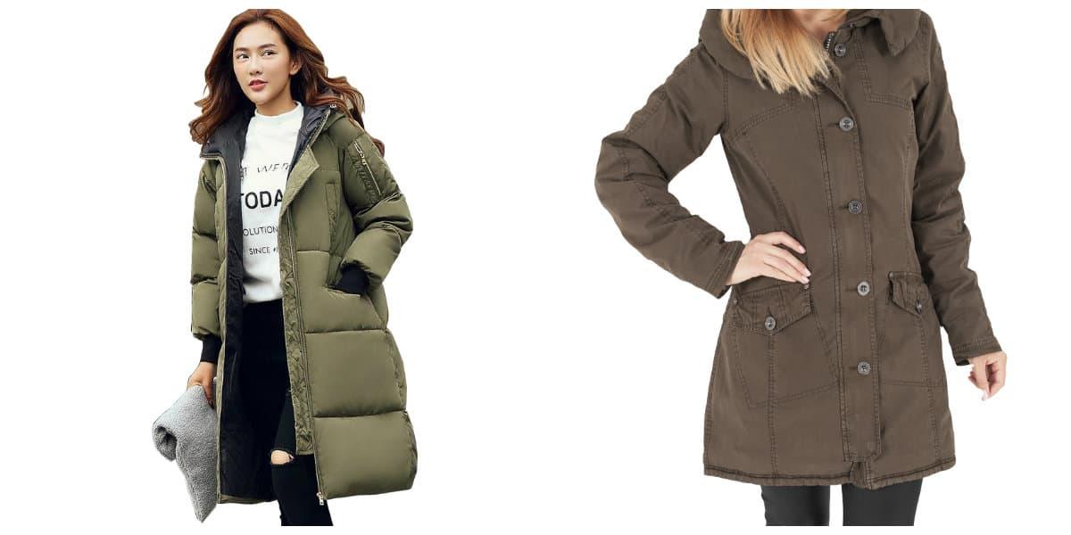 Abrigos de invierno 2020- modelos con cachupa femenina