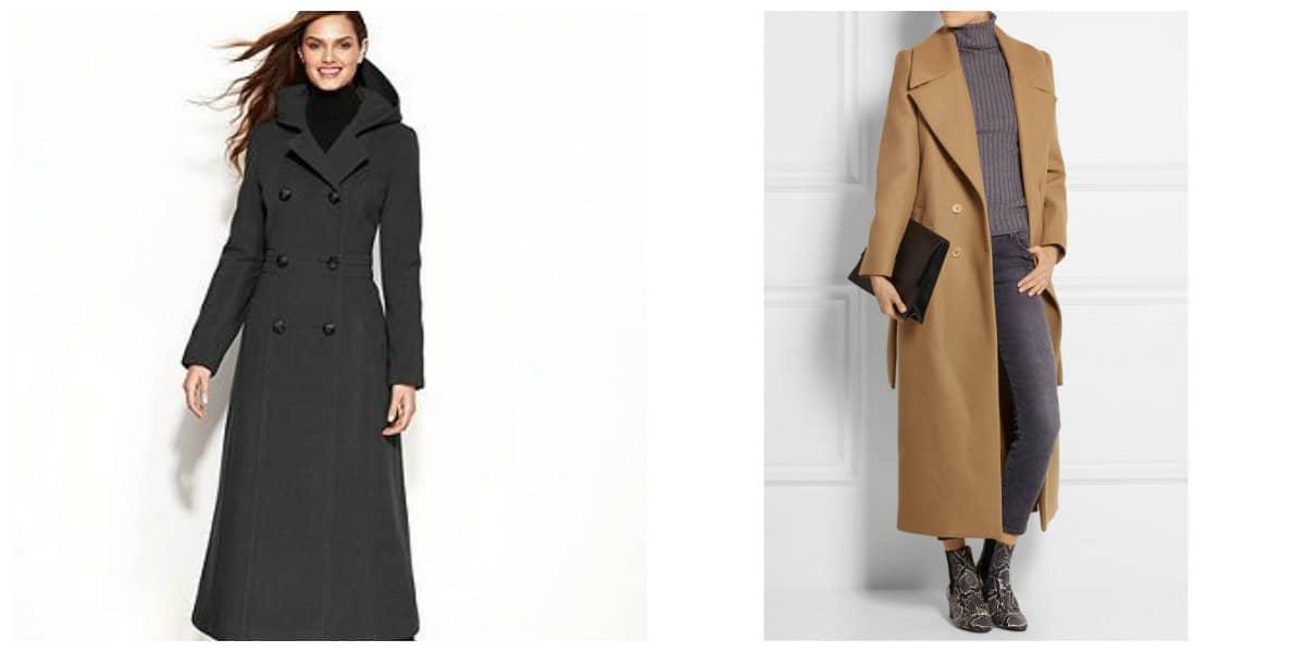 Abrigos de invierno 2020- el abrigo maxi desde colecciones de moda