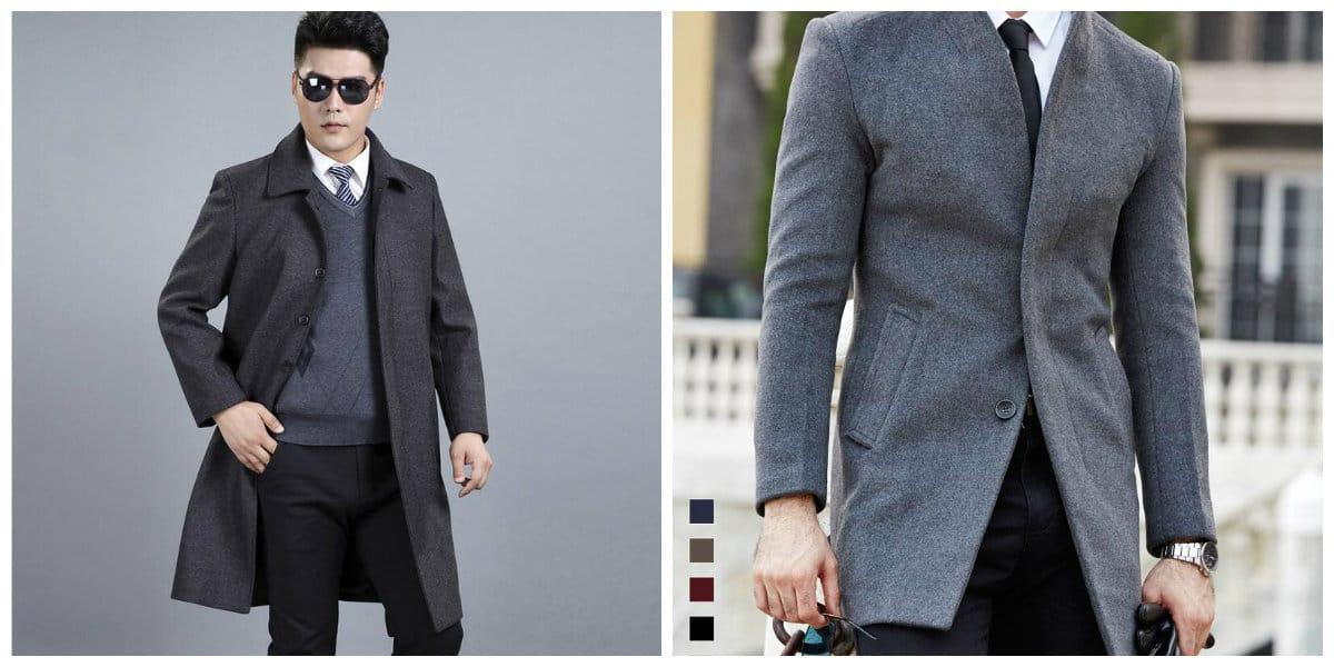 Modelos de abrigos hombre