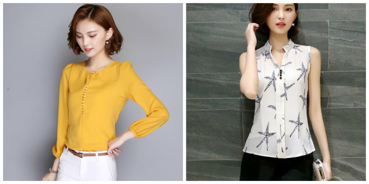 Blusas de moda 2018- tendencias nuevas de blusas femeninas