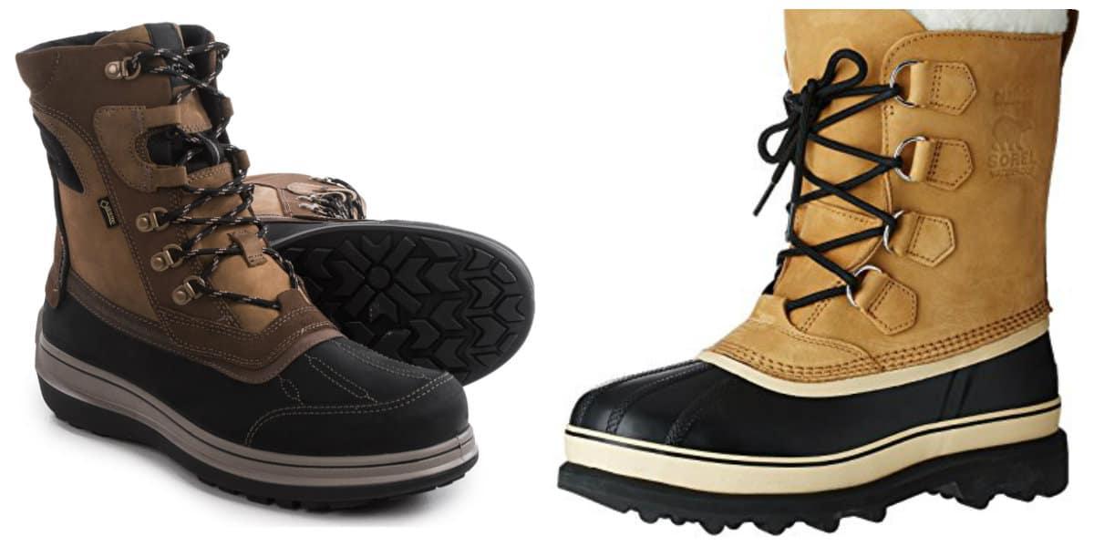 Botas para hombre 2018- zapatillas de invierno de alta calidad