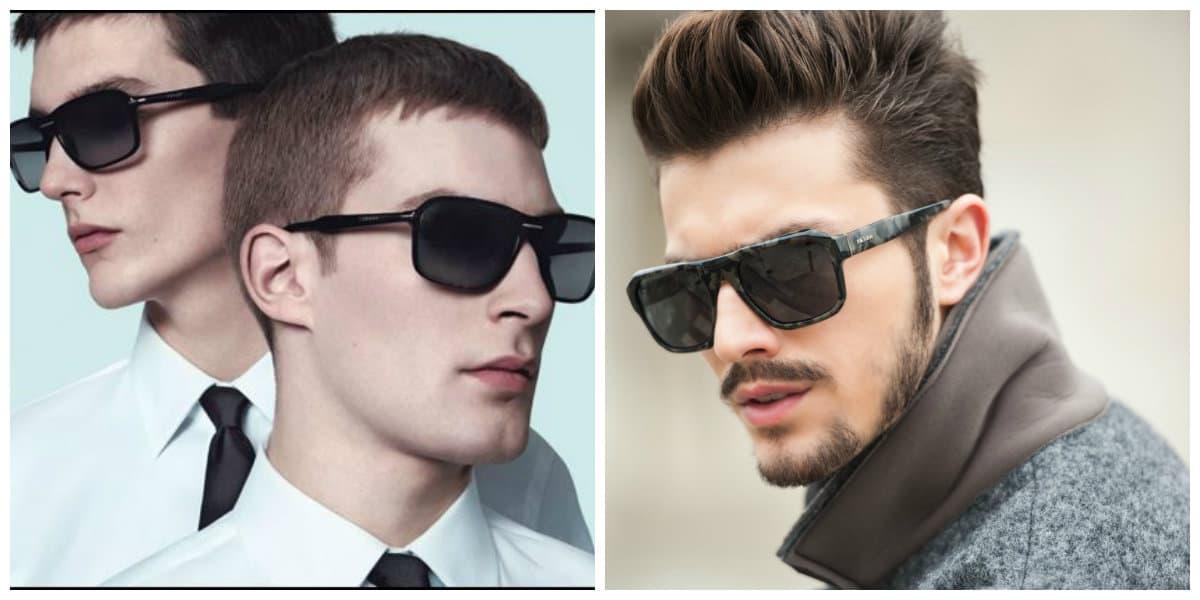 Gafas de sol para hombre 2018; tendencias de gafas 2018