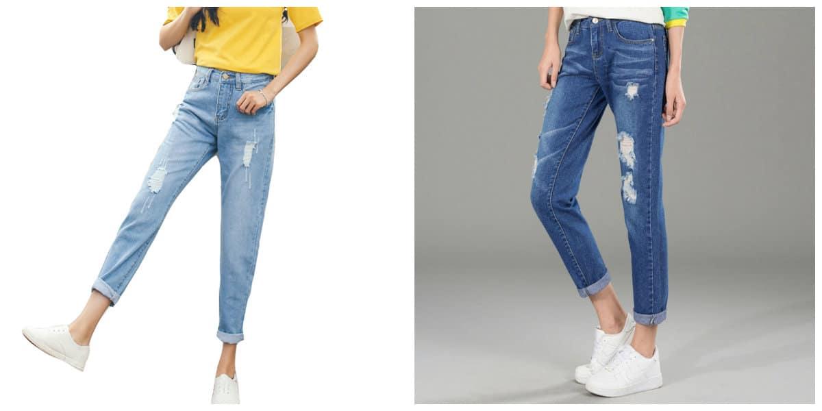 Jeans para mujer 2018; tendencias para jeans 2018