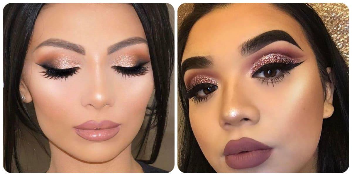 Maquillaje 2018- graduacion aplicada sobre la piel morena