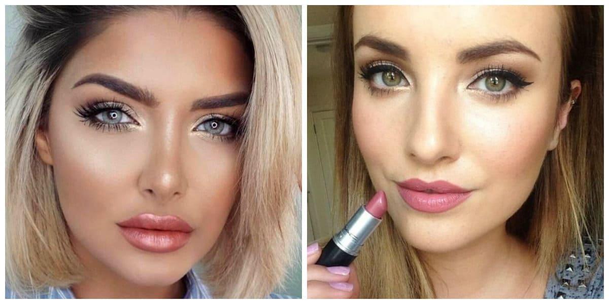 Maquillaje de día 2018- movimientos de maquillaje desde el desfile de diisenadores