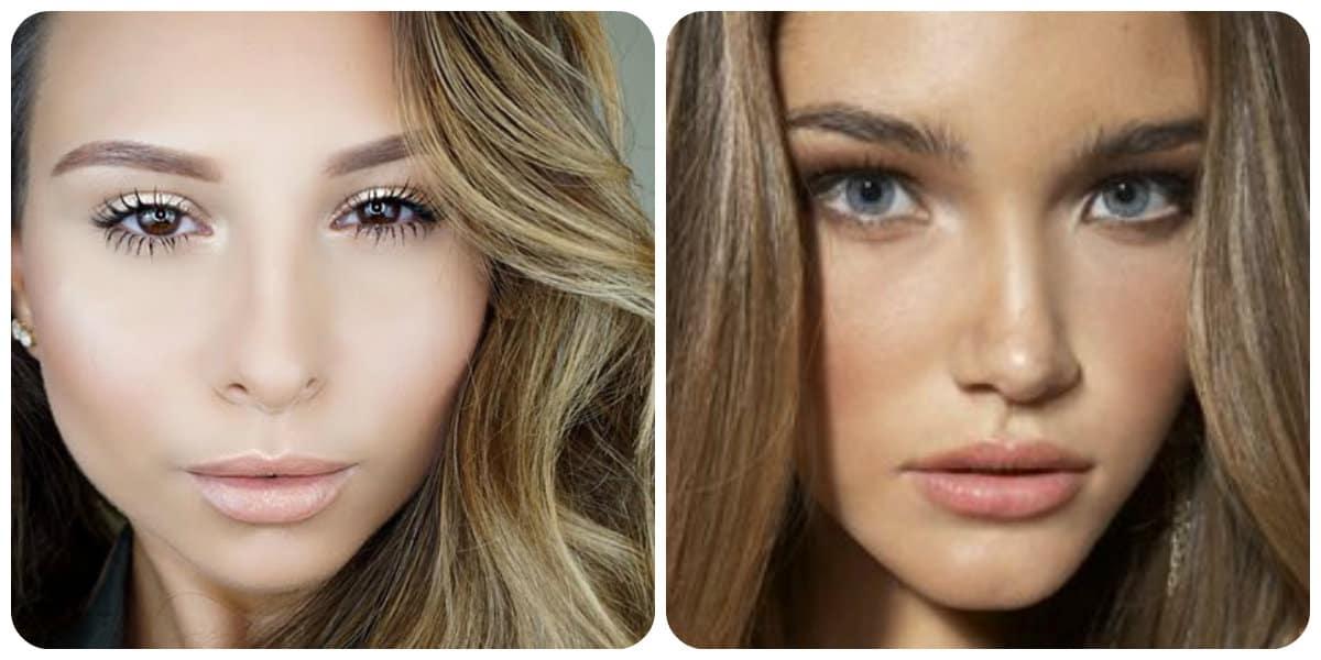 Maquillaje de día 2018- en las tonalidades de beige para tener una pinta hermosa