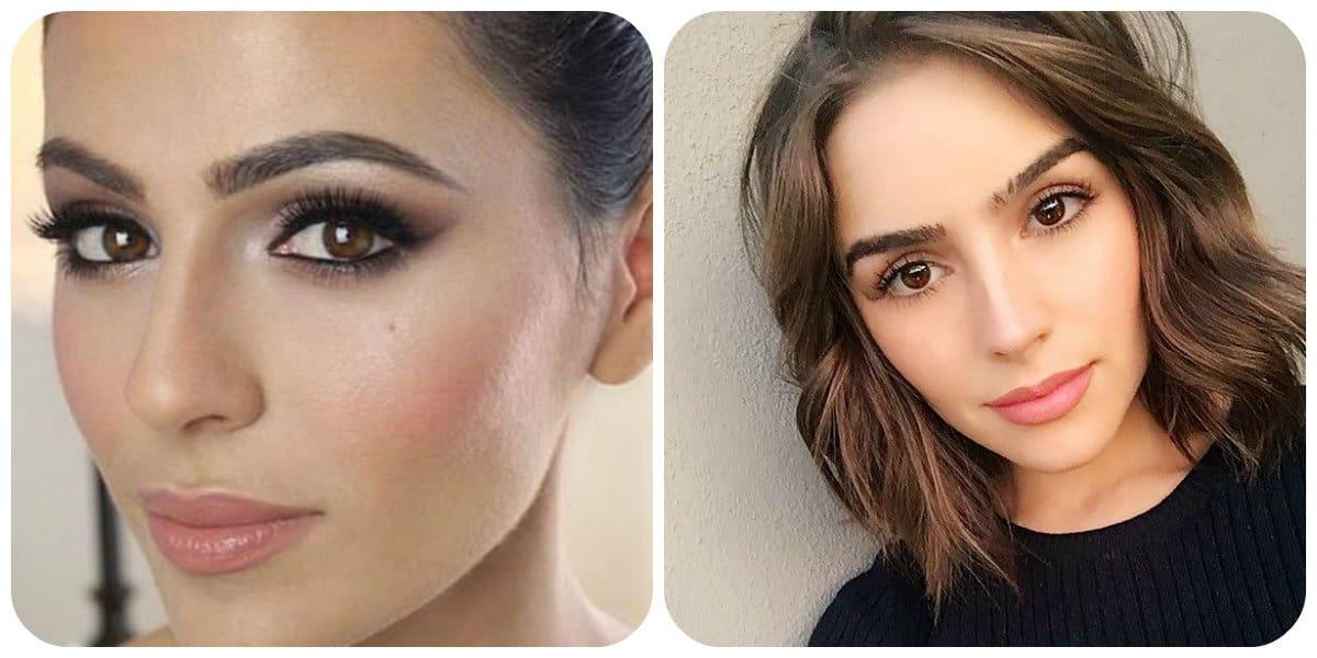 Maquillaje de día 2018- ideas principales y mejores para aqyudar a las chicas