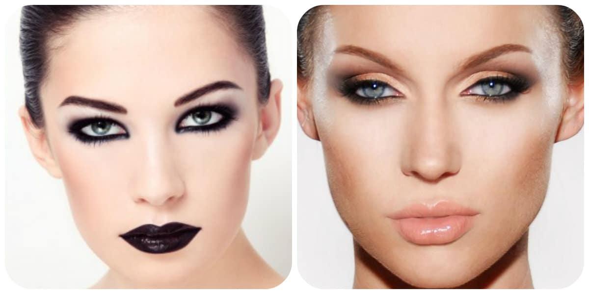 Maquillaje de moda 2018- tendencia gotica esta de moda