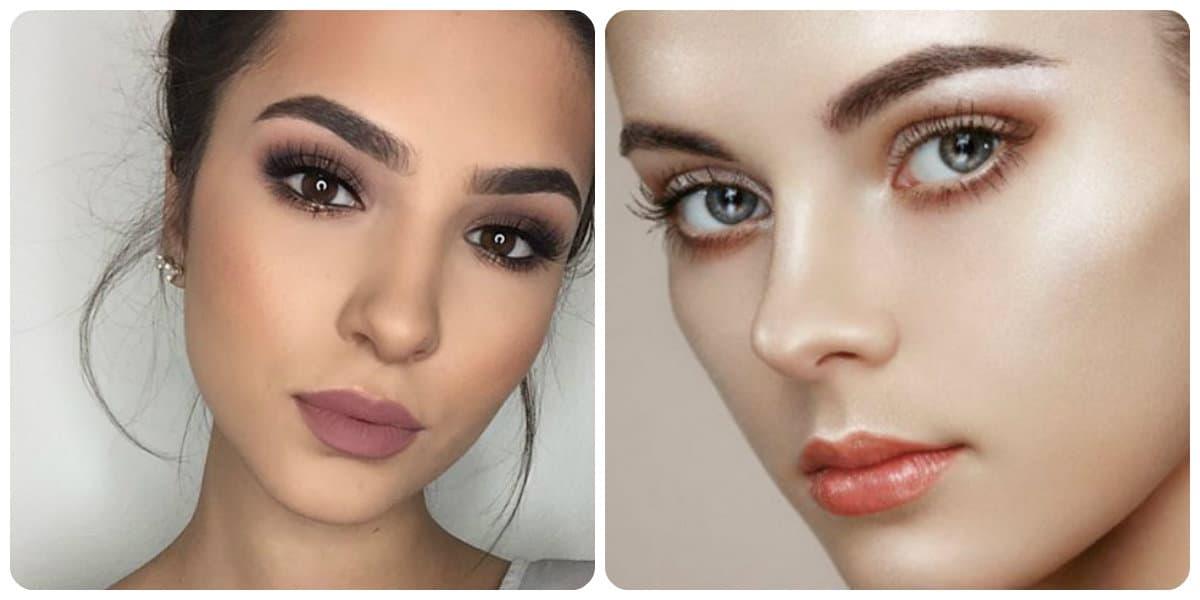 Maquillaje de moda 2018- la maxima naturalidad de los colores