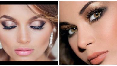 Maquillaje de noche 2018- ideas y tendencias con gusto para mujeres muy de moda