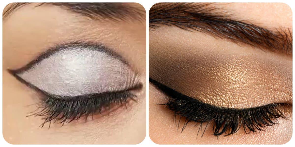 Maquillaje de ojos 2018- tonalidades de nude que simepre estan de moda