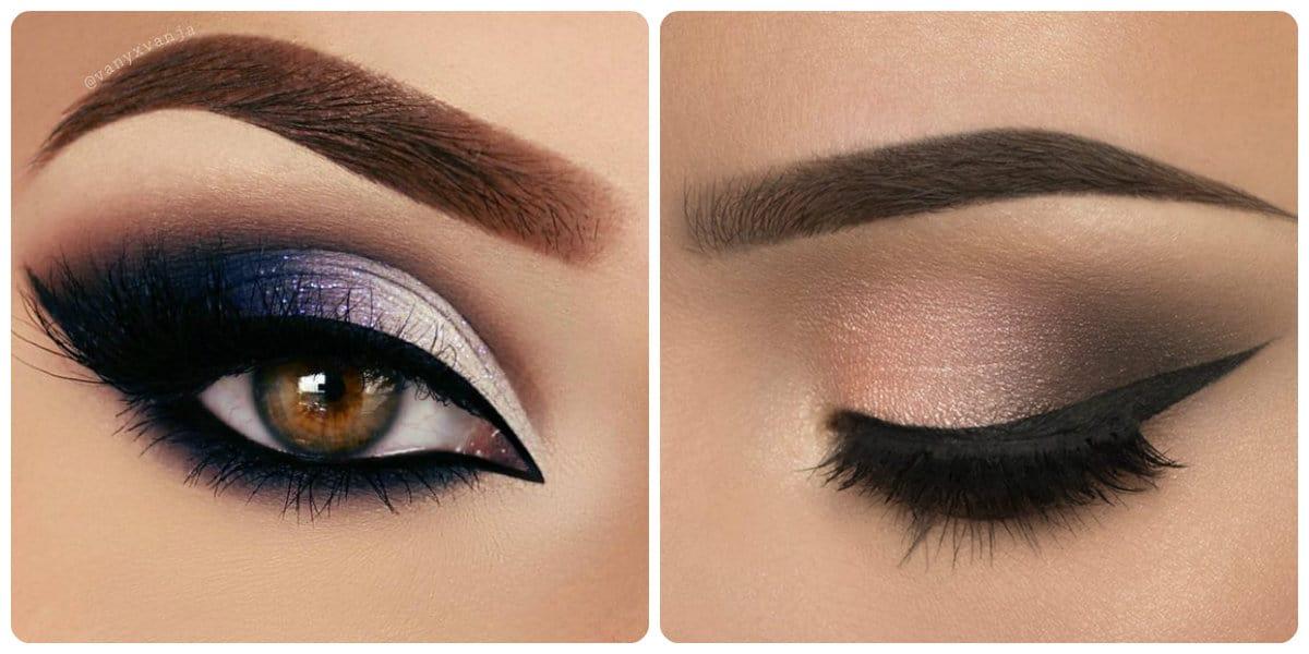 Maquillaje de ojos 2018- las ideas y tendencias principales