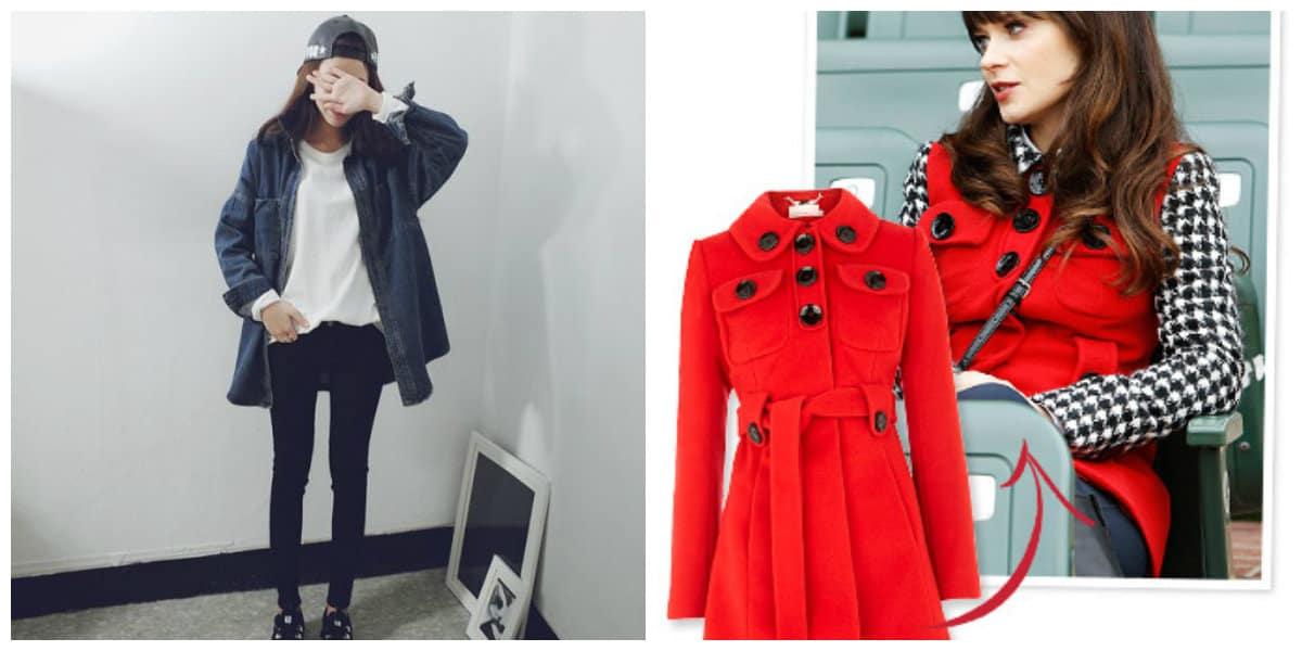 Moda de chicas 2018- abrigos para la temporada de otono e invierno