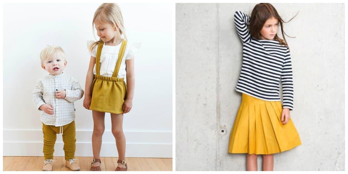 Moda para niños 2020- colores de moda para la temporada de invierno