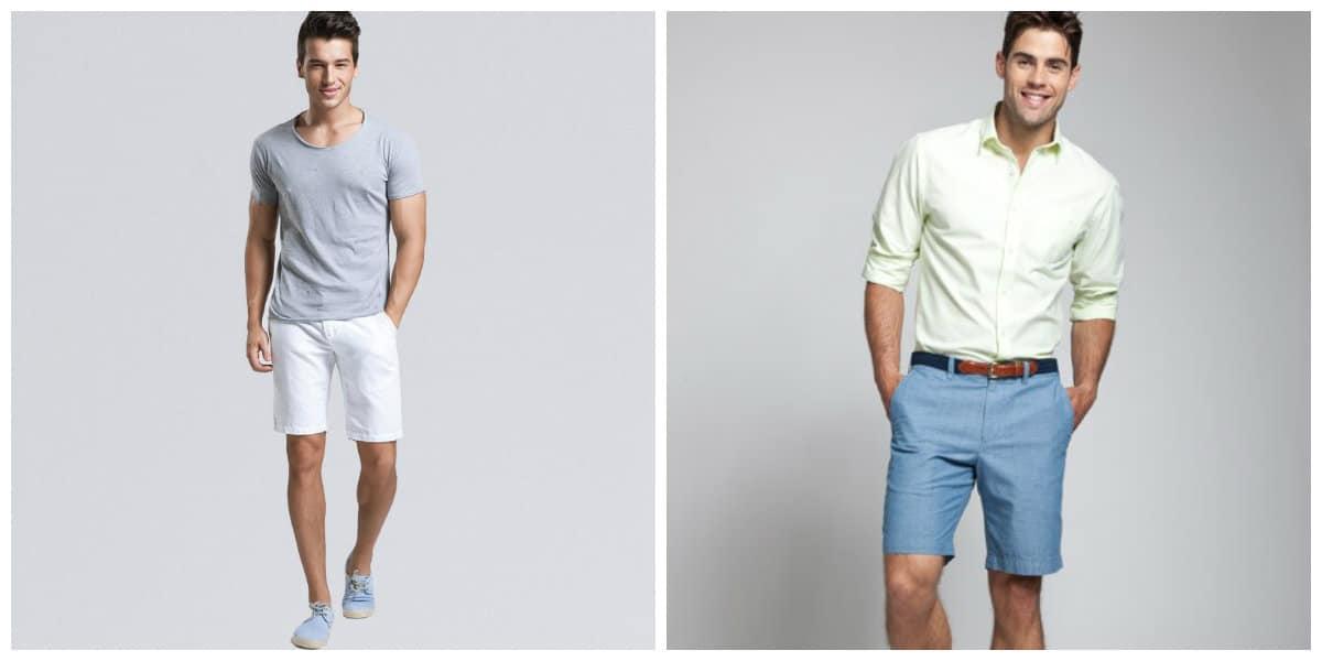 Pantalones cortos hombre 2018- estilos con gusto de moda masculina
