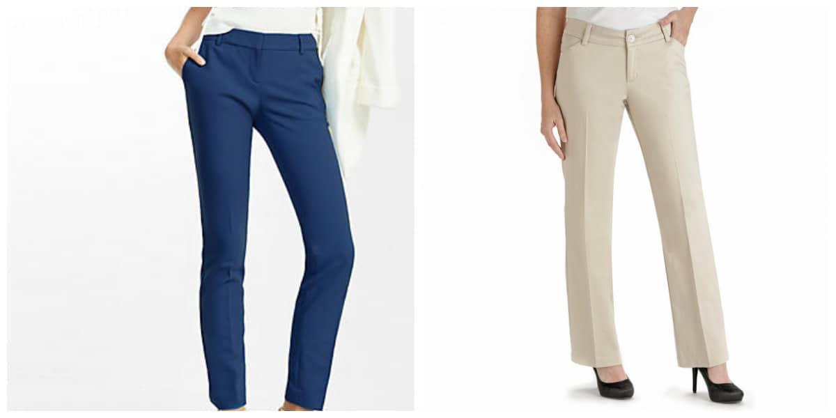 Pantalones para mujer 2018- principales tendencias de moda femenina