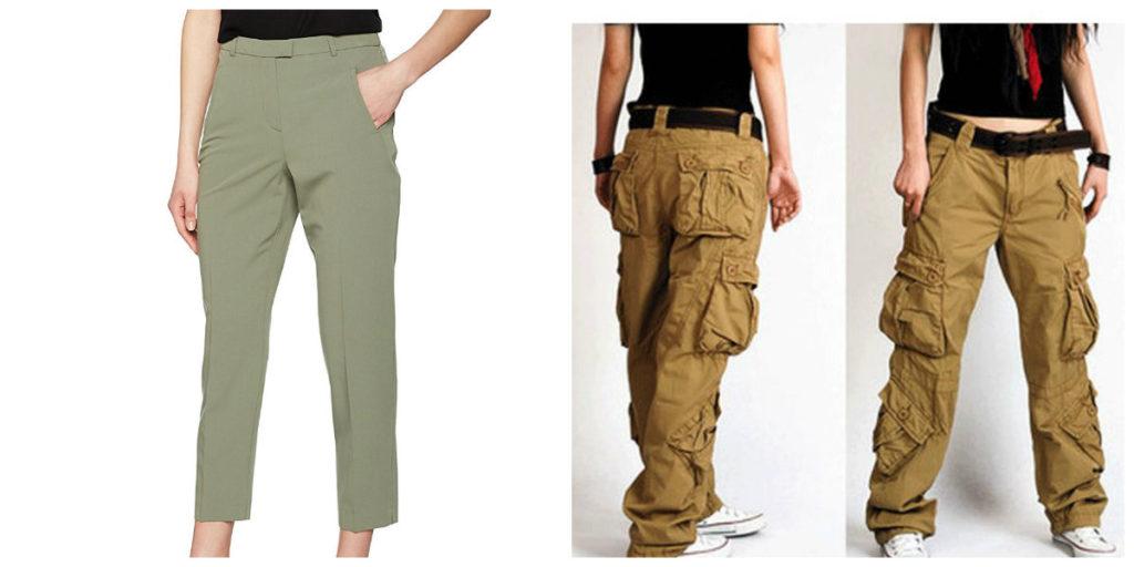 Pantalones para mujer 2020; pantalones de mujer de moda