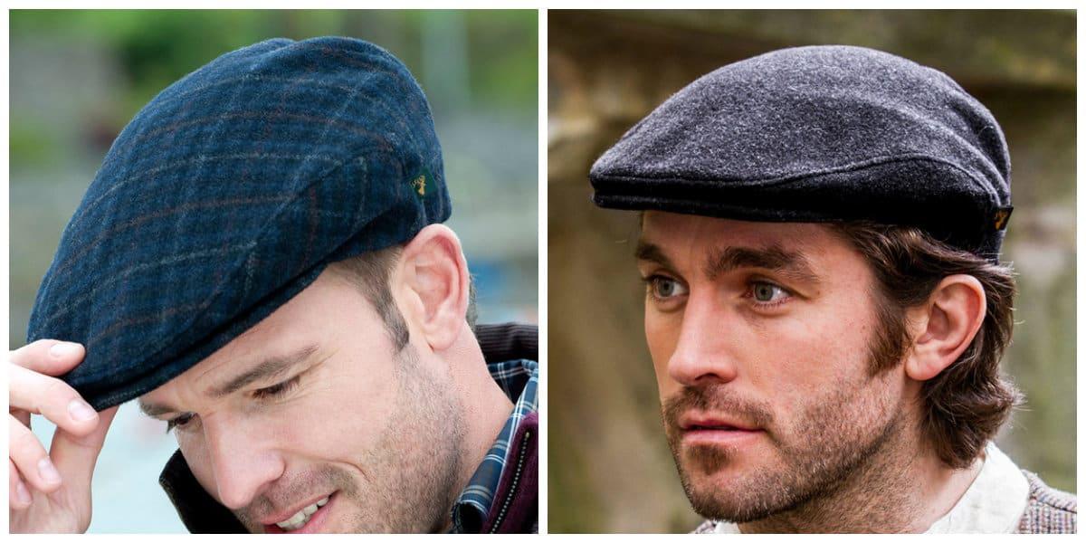 Sombreros para hombre 2018- gorra inglesa de coleccion Armani