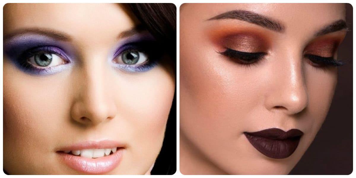 Tendencias de maquillaje 2018- la combbinacion de diferentes colores
