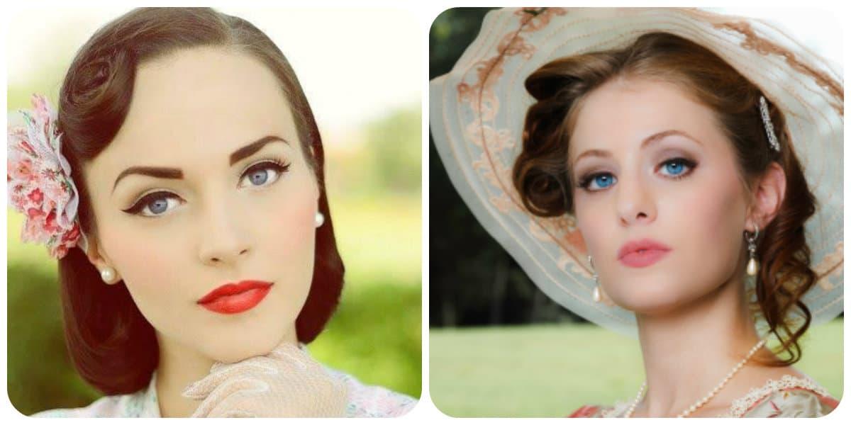 Tendencias de maquillaje 2018- el estilo retro vuelve a moda