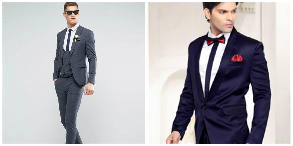 trajes de boda 2018 nuevas tendencias de trajes de novio