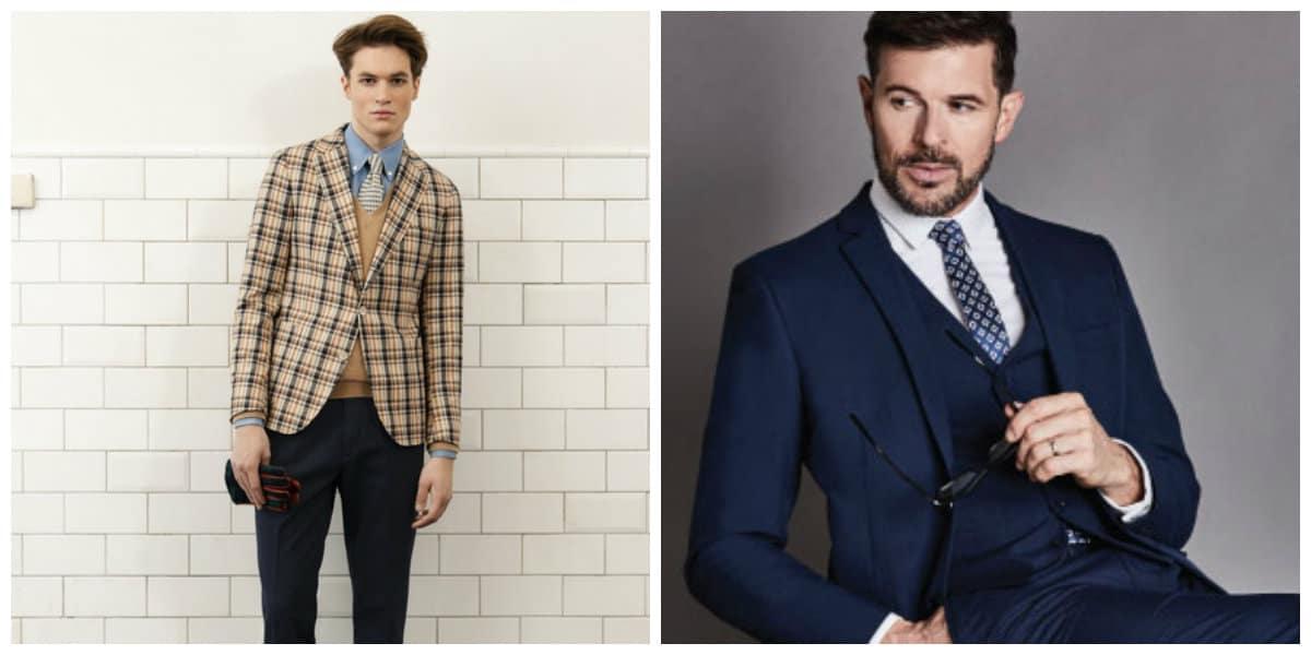 trajes de hombres 2020 - trajes en el estilo triple