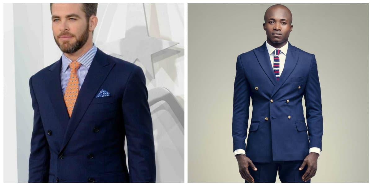Trajes para hombres 2018- moda masculina para hombres de moda - trajes de hombres 2018