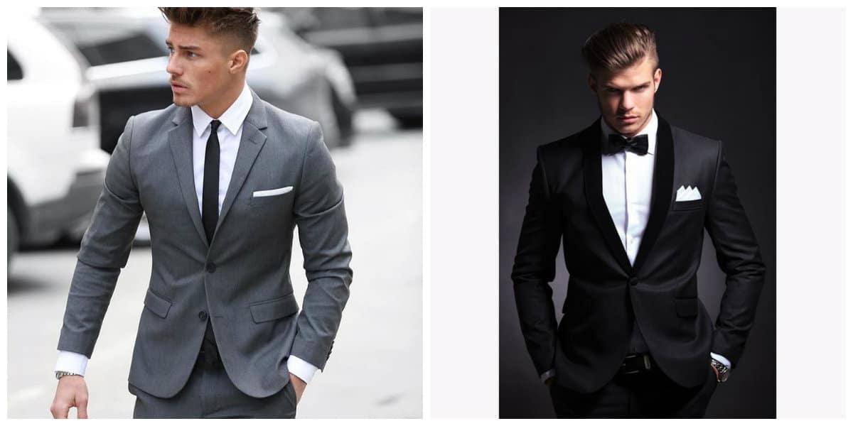 Trajes para hombres 2018- tendencias principales para la moda masculina