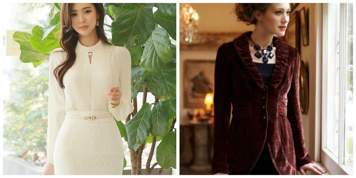Trajes para mujeres 2018- para las citas romanticas de moda
