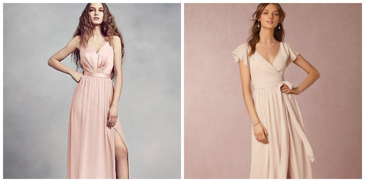 Vestidos de damas de honor 2018- mejores tendencias