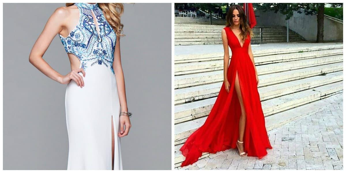 Vestido fiesta rojo 2018 – Vestidos de noche elegantes para ti