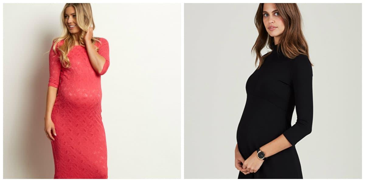 Vestidos de maternidad 2022- los que estan mas en tendencia