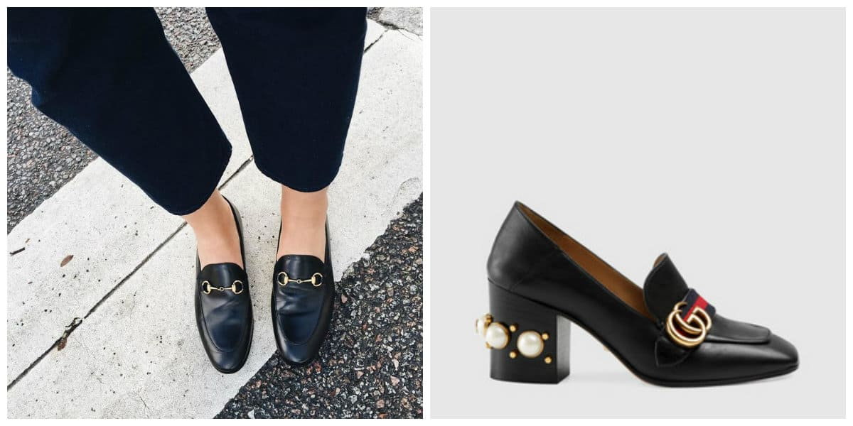 Zapatos de mujer 2018- famosa marca de Gucci de moda