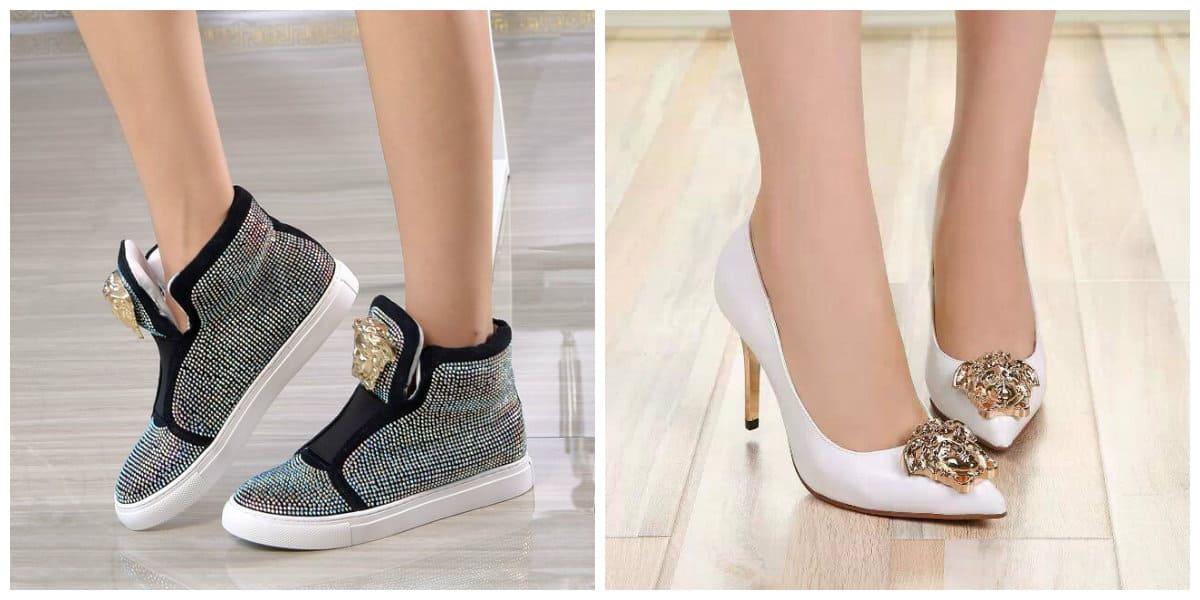 Zapatos de mujer 2018- de coleccion de Versace