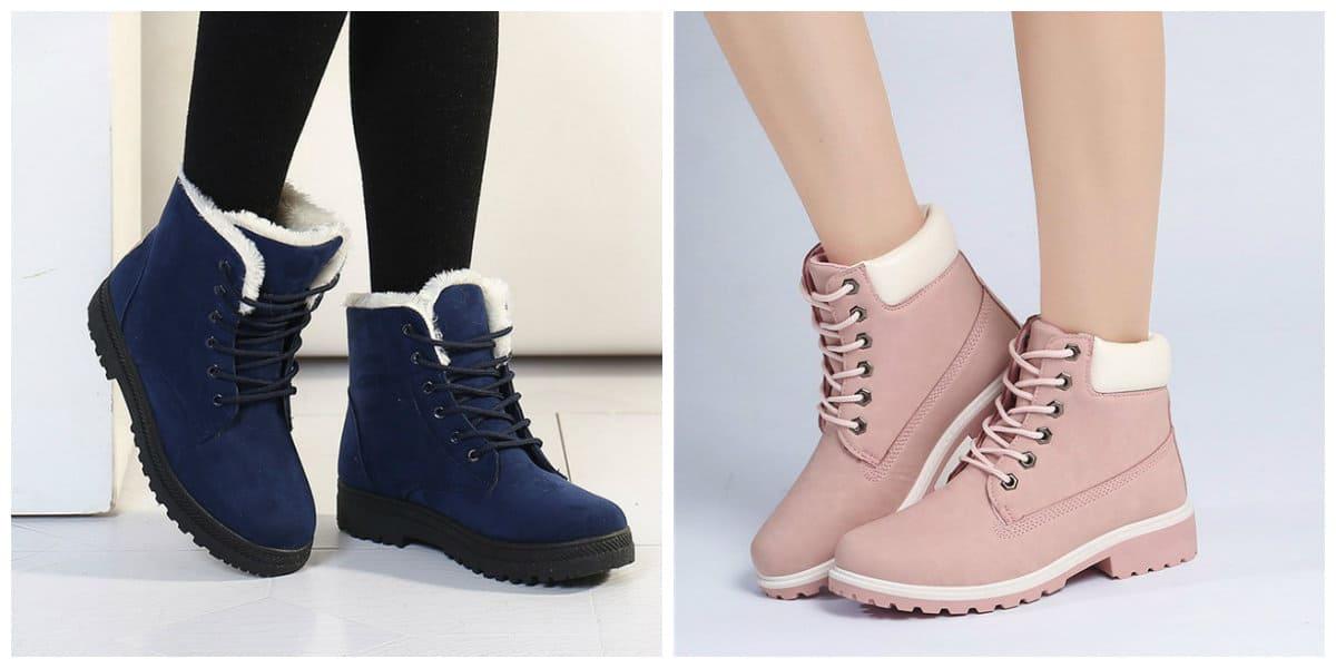 Zapatos de mujer 2018- calzados de invieron para las mujeres