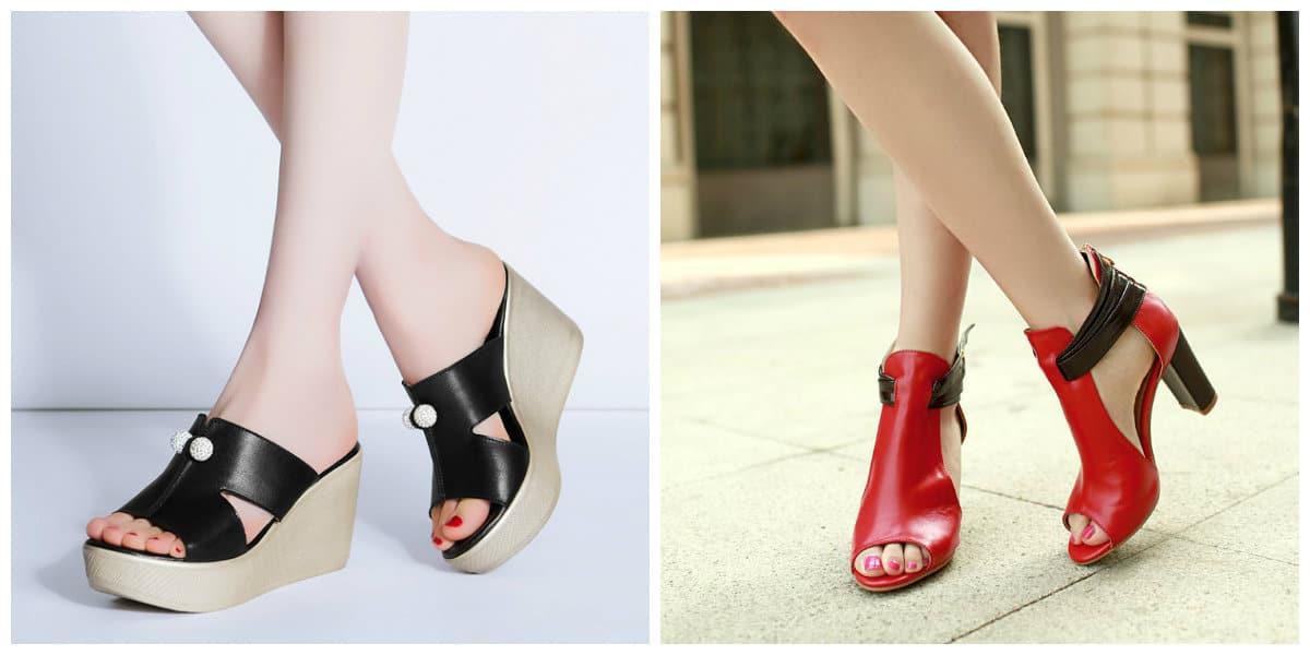 Zapatos de mujer 2018- estilo informa para el verano