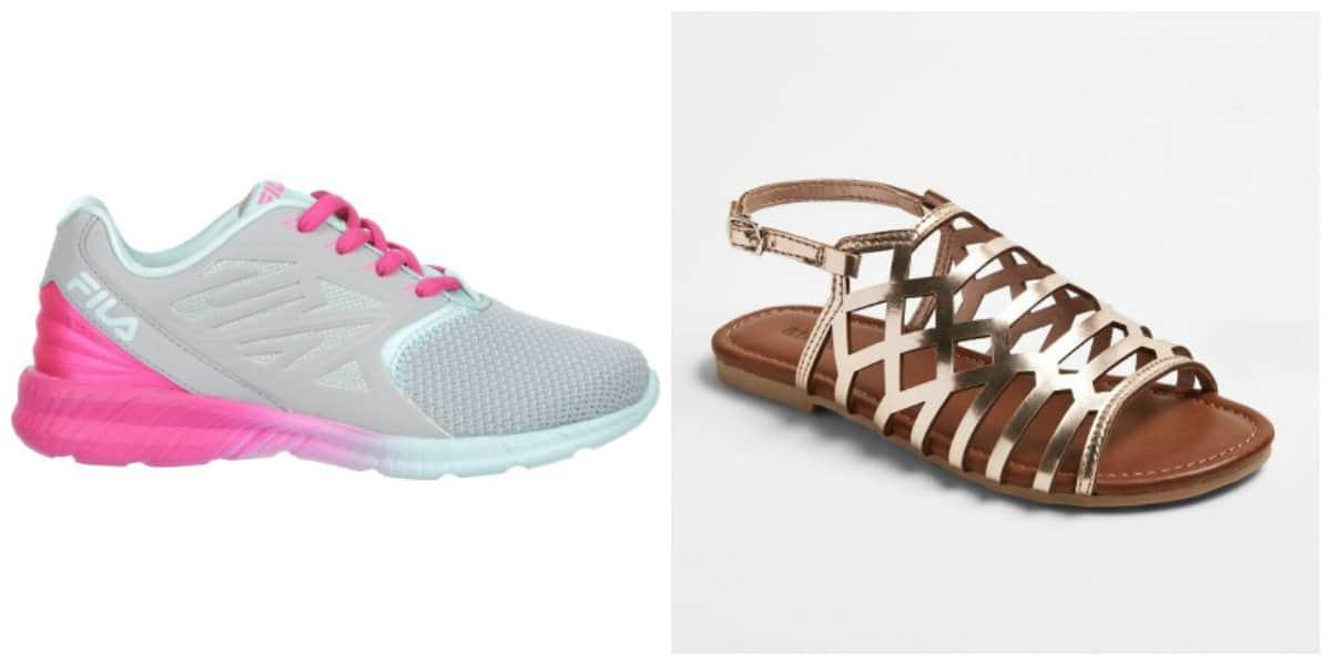 Zapatos para niñas 2018- productos de diferentes materiales