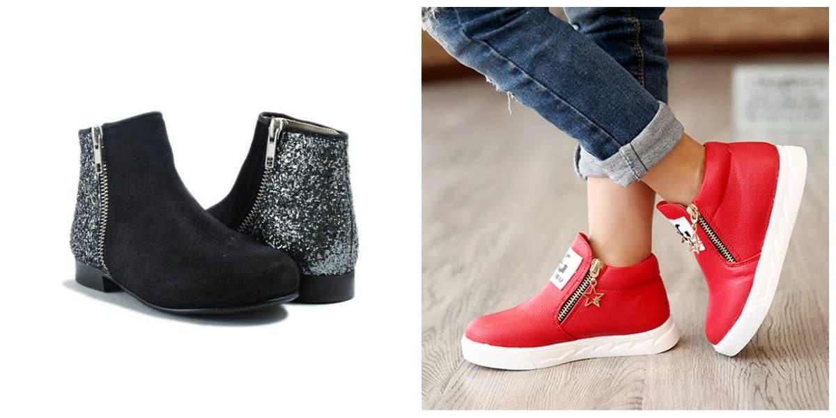 8a12891b0 Zapatos para niñas 2018- universales modelos de botas de chica