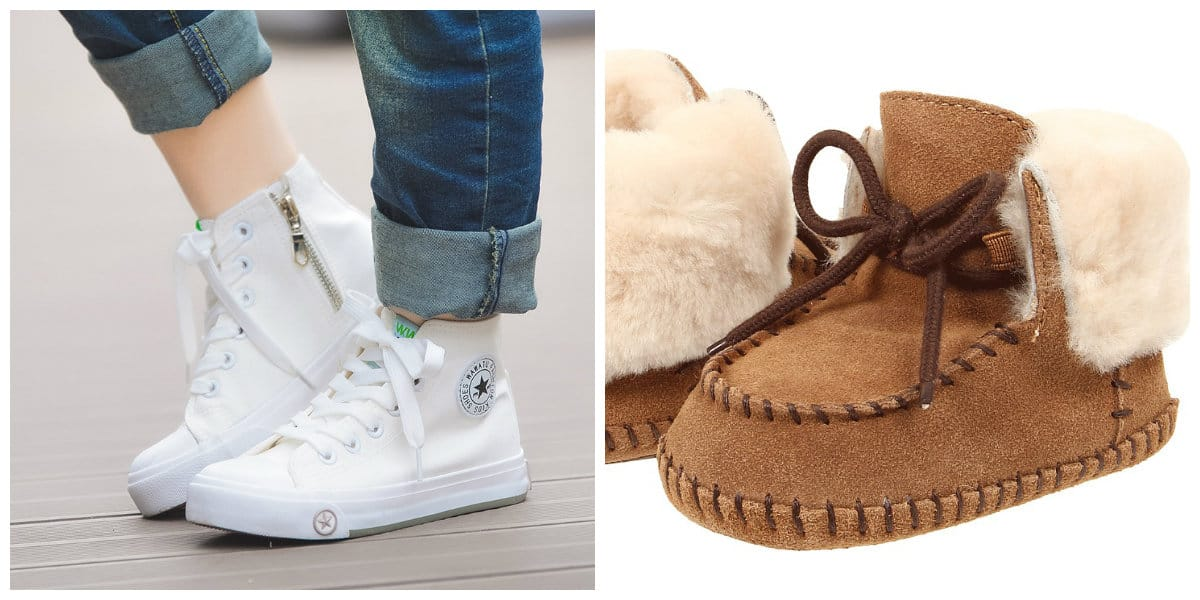 Zapatos para niñas 2018- relevantes zapatos de moda para la temorada