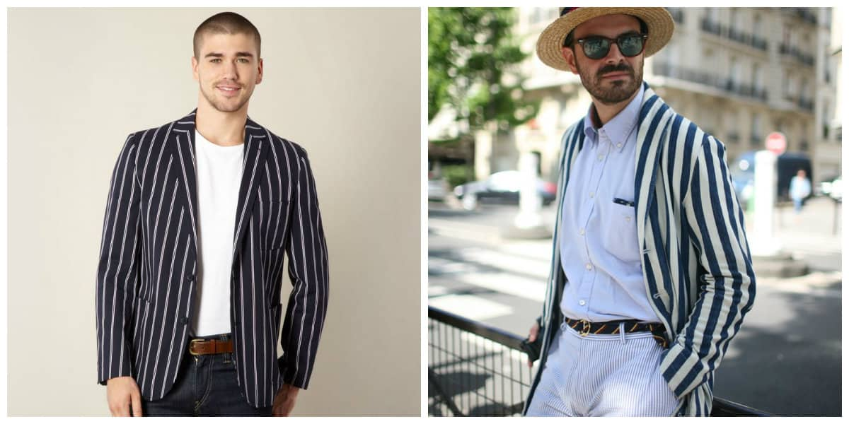 Blazer hombre 2020- diferentes combinaciones que chaquetas de moda