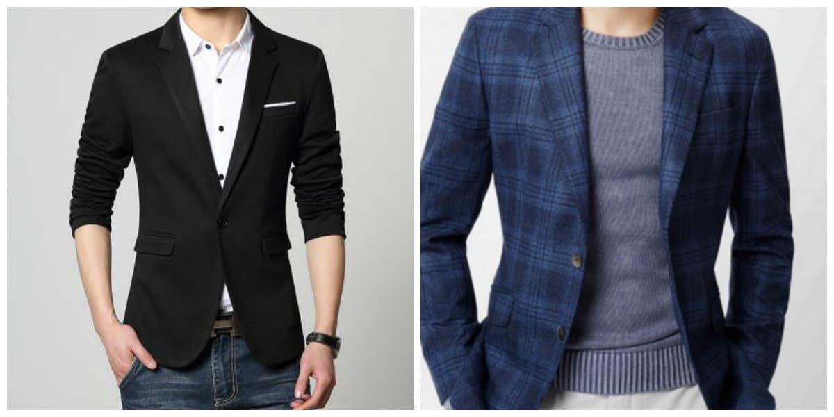 Blazer hombre 2020- tendencias de colores diferentes de moda