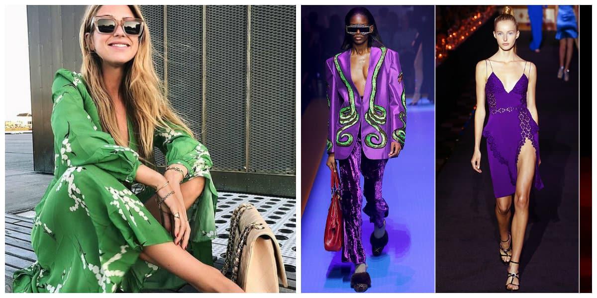 Colores de moda 2018- el verde combina estetica retro